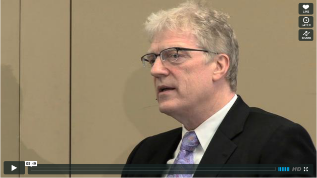 "Sir Ken Robinson: ""Creativity is not an ""add-on,"" but calls for radical change in our schools."