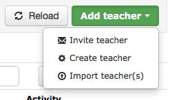Add Teacher
