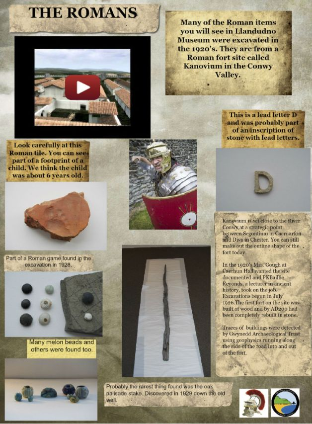 This museum glog from Wales combines unusual artifacts with important info.